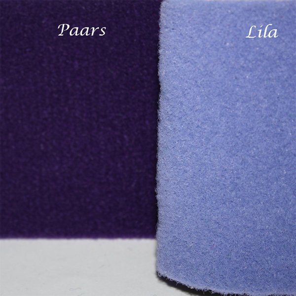 Paars of lila luxe loper