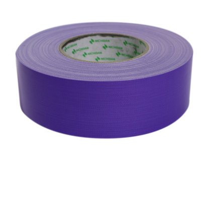 Duct tape paars nichiban L50 m x B 50 mm