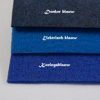 blauw lopers tapijt
