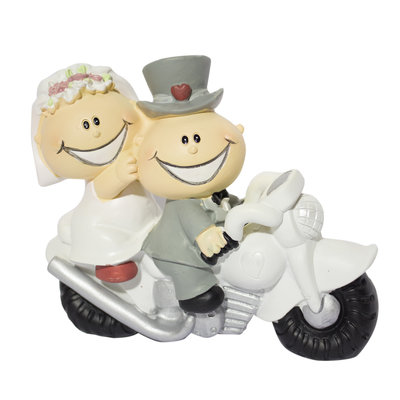 Motor taarttopper grappig15 x 12 cm