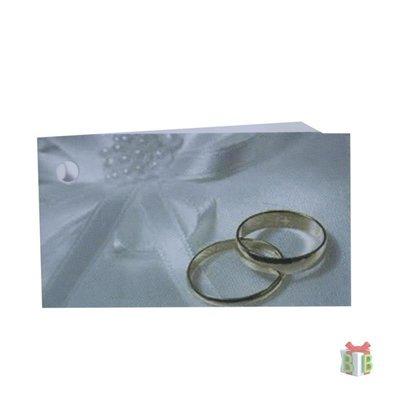 Minikaartje voor huwelijk