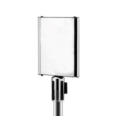 Display A4 voor aluminium trekband afzetpaaltjes
