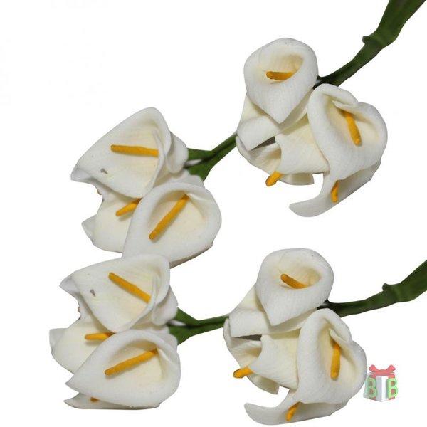 Witte lelie kunstbloem
