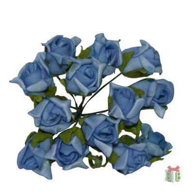 Blauwe roosjes