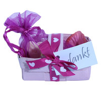 Mini mandje roze  kleine afbeelding