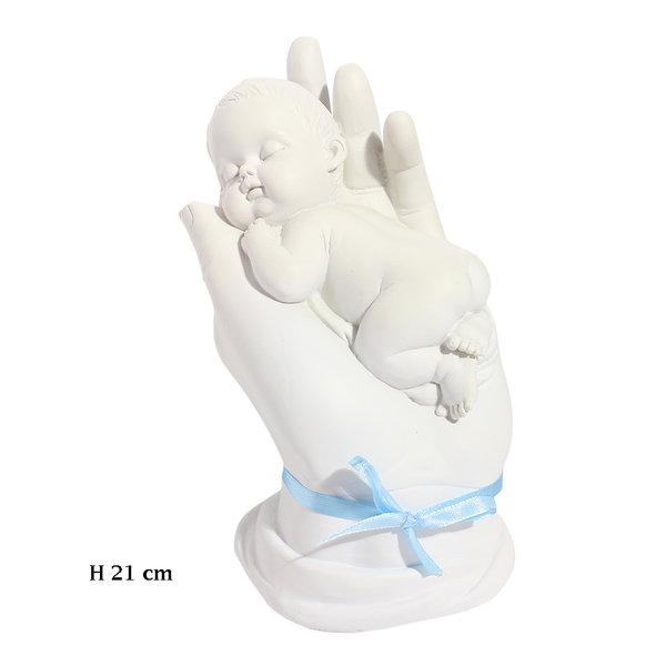 Baby in hand 21 cm