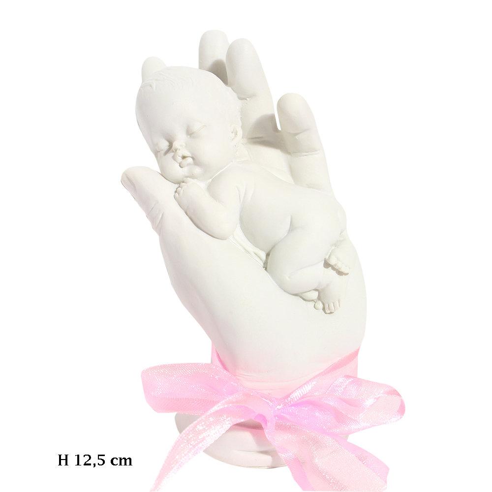 Herinnering baby in handen