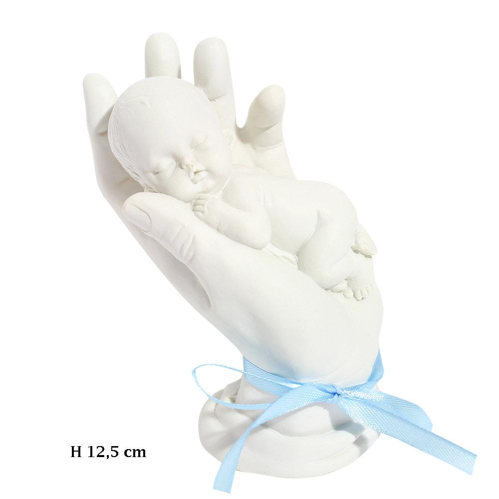 Aandenken baby in handen