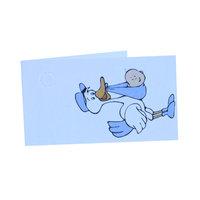 Minikaartje blauwe ooievaar  kleine afbeelding