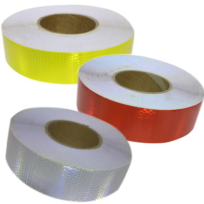 Reflecterend tape - rood, geel of wit