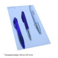 Transparant zakje 20 x 10 cm