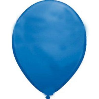 Ballon donkerblauwe metallic