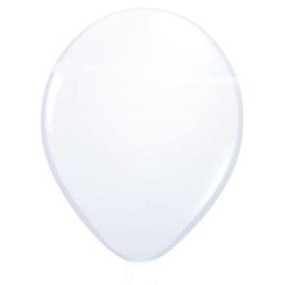 Metalic witte ballon