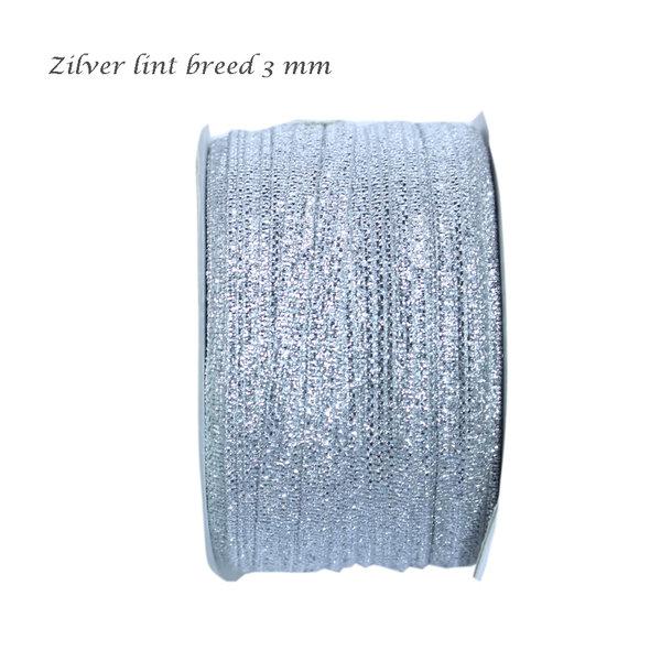 Zilver lint 3 mm