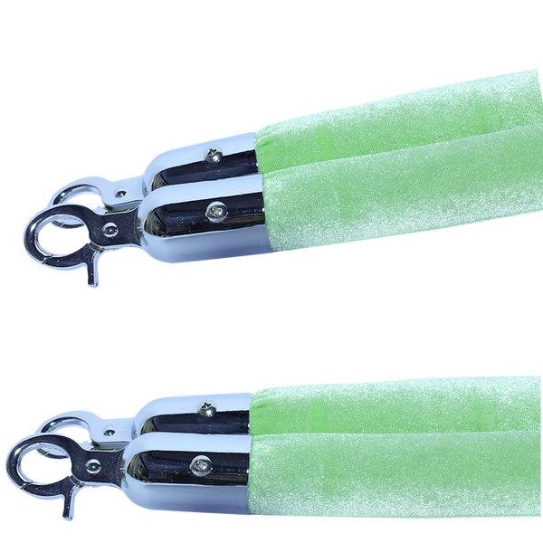 Groen afzetkoord velours 32mm