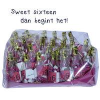 Sweet sixteen bedankjes