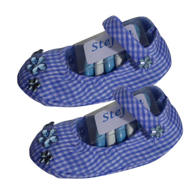 Bedankje schoentje blauw