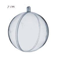 Transparante ballen 7 cm  kleine afbeelding