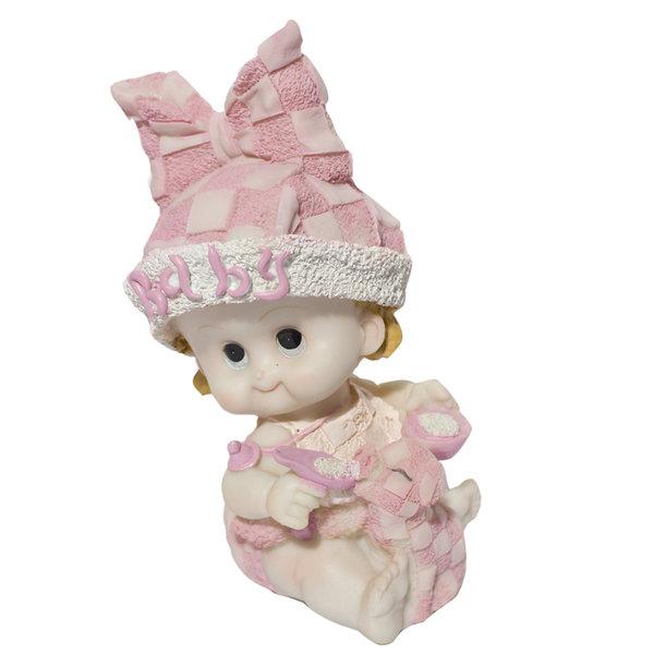 Taarttopper Baby met papfles