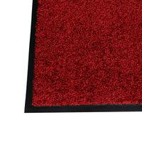 bedrijfs deurmat droogloopmat rood  kleine afbeelding