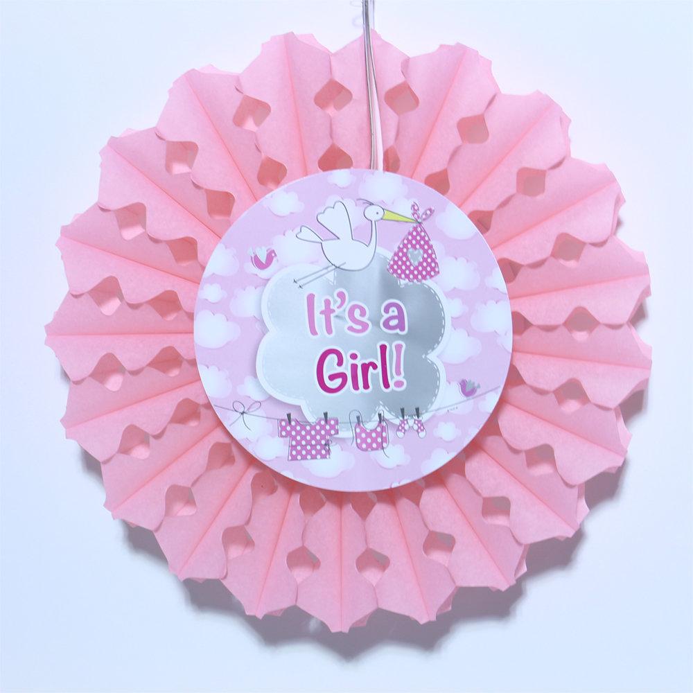 Honey comb bal It's a Girl