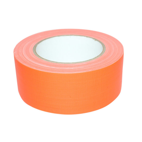 Duct tape oranje fluor