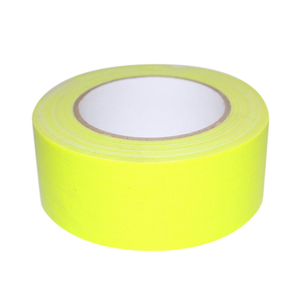 Duct tape geel fluor