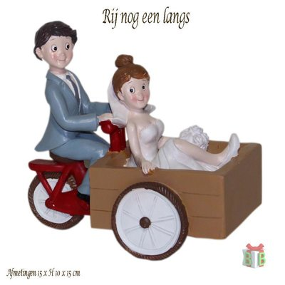 Bakfiets taarttopper