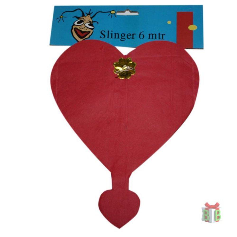 Huwelijkslinger rode hartjes