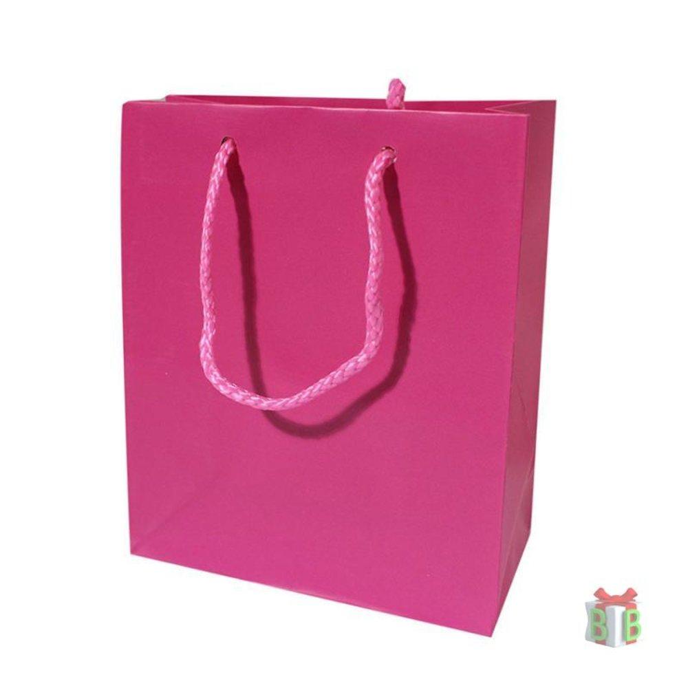 Goodie bag fuchsia groot