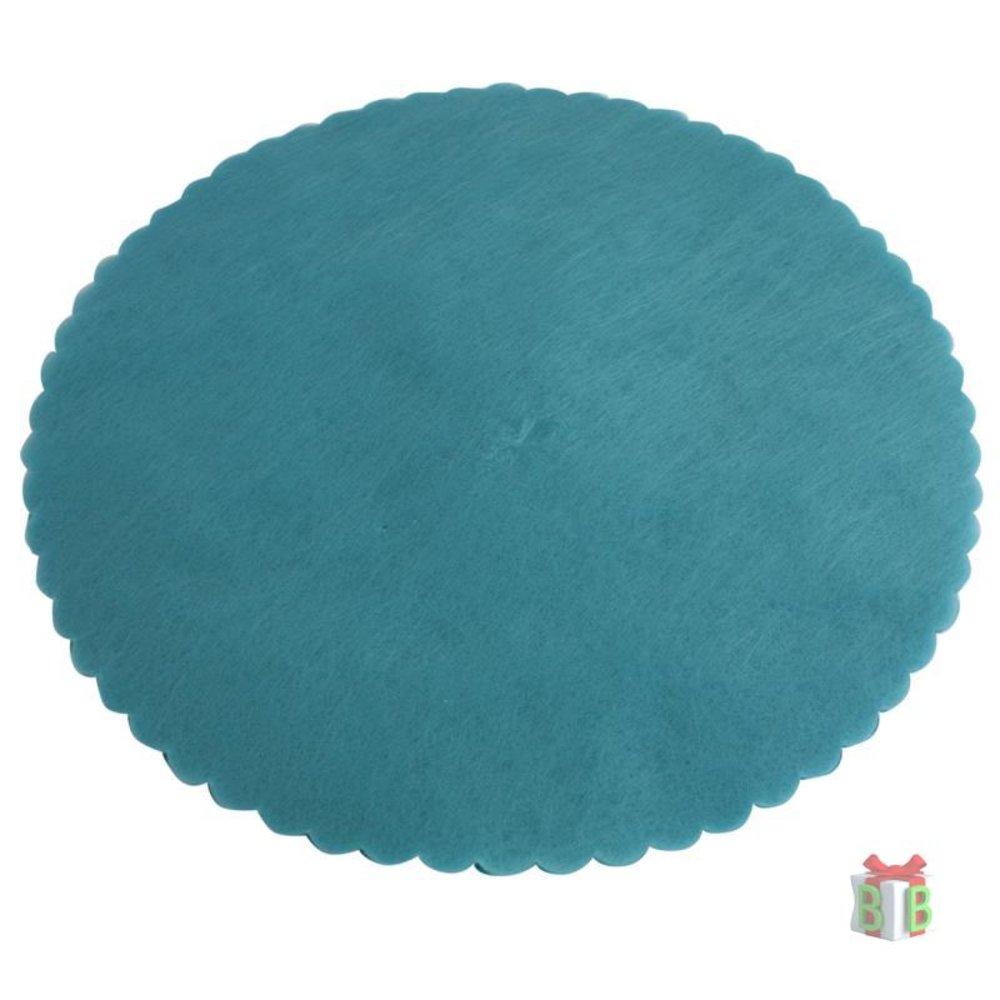 turquoise tule
