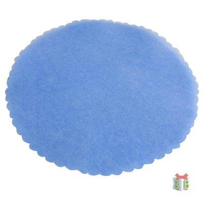 Lichtblauwe tule