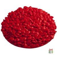 Rode Chocolade mini hartjes kleine afbeelding