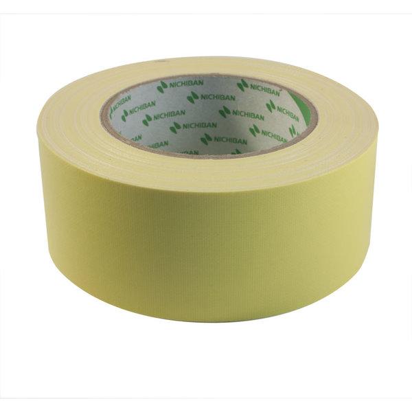 Geel Duct tape Nichiban L 25 m X B50 mm