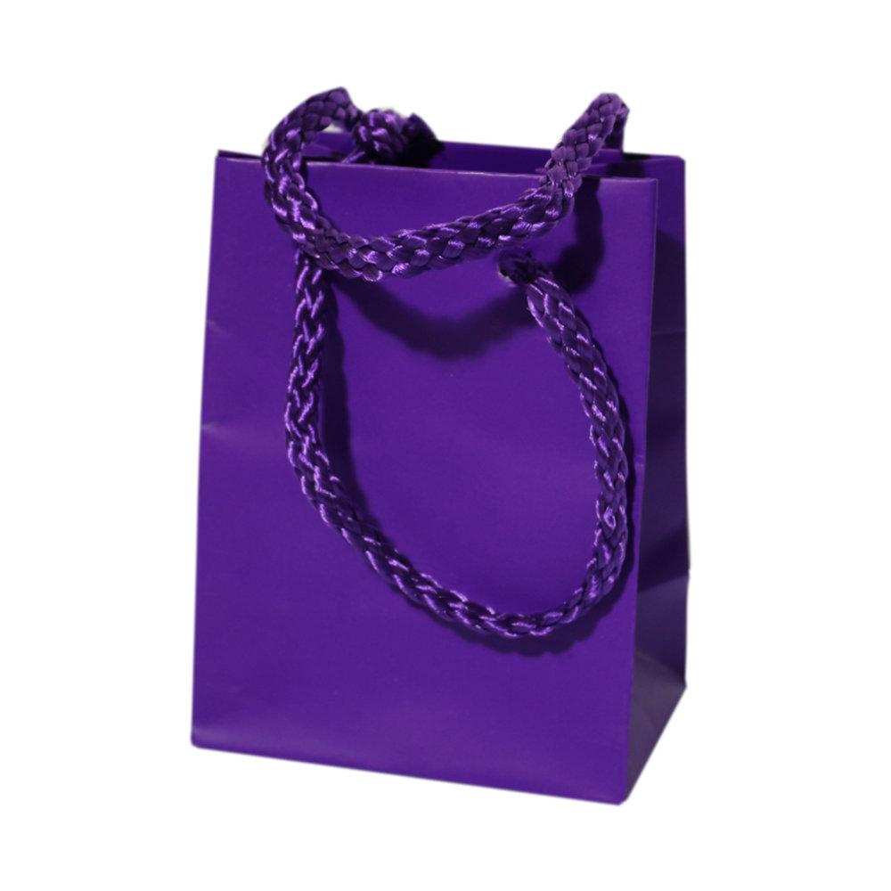 Goodiebags paars lila