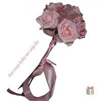 Bruidsboeket roze kleine afbeelding