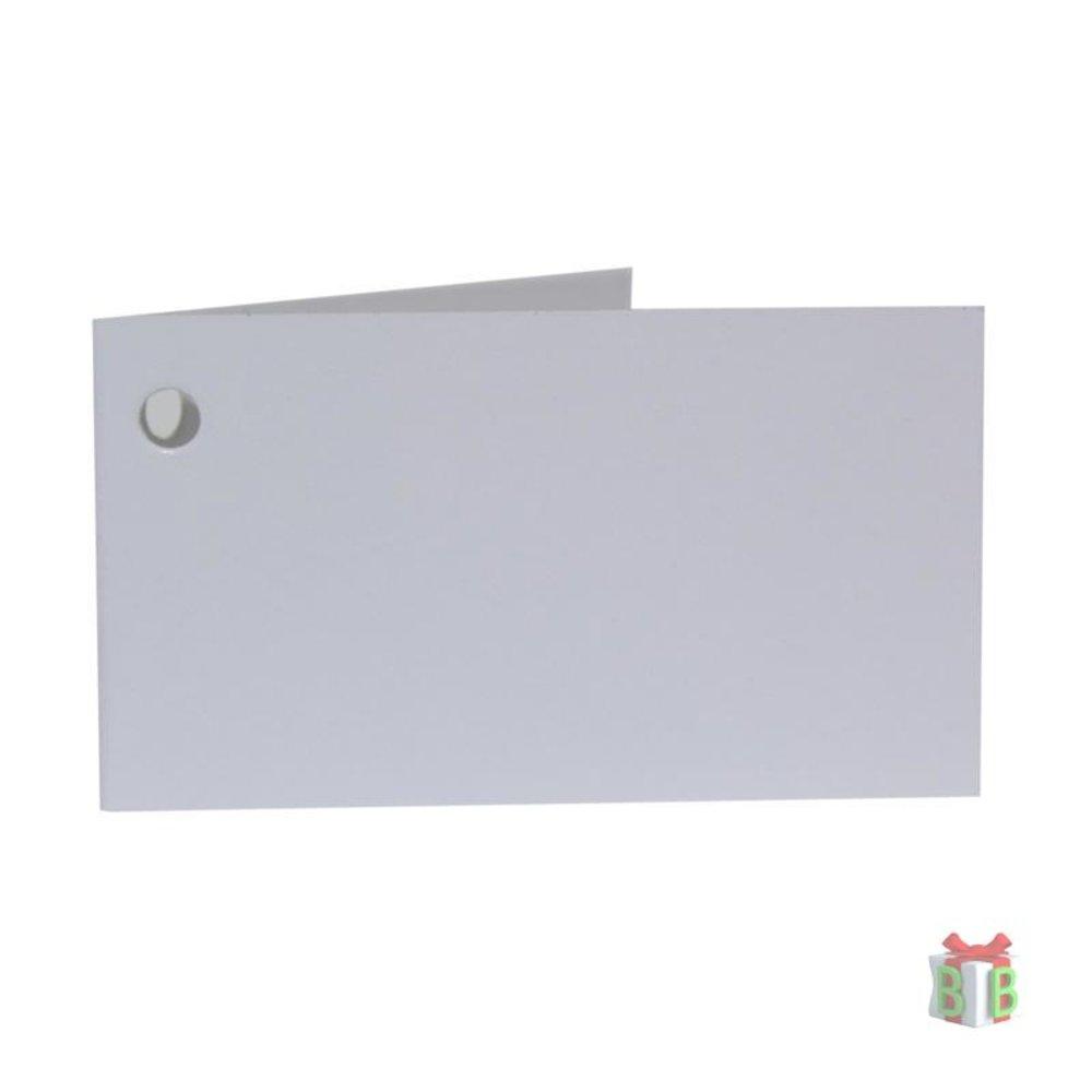 Klein kaartje wit