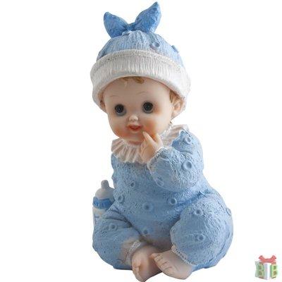 baby topper blauw