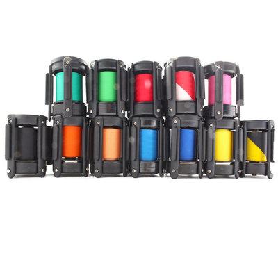 Afzetpaaltje lint meerdere kleuren