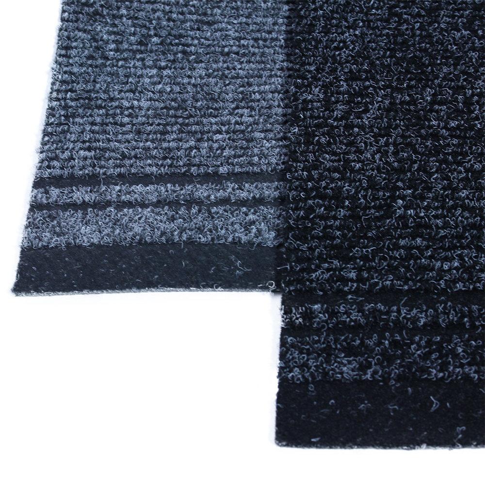 Gangloper zwart met rand