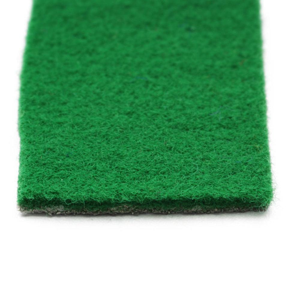 Groen luxe loper bovenkant