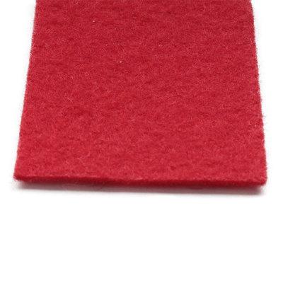 Rode loper naaldvilt bovenkant
