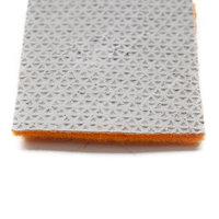 Oranje luxe loper onderkant kleine afbeelding