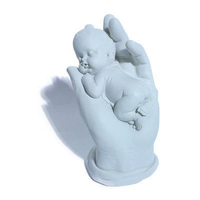 Baby in hand aandenken