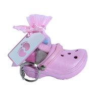 Sleutelhangers crocs roze kleine afbeelding