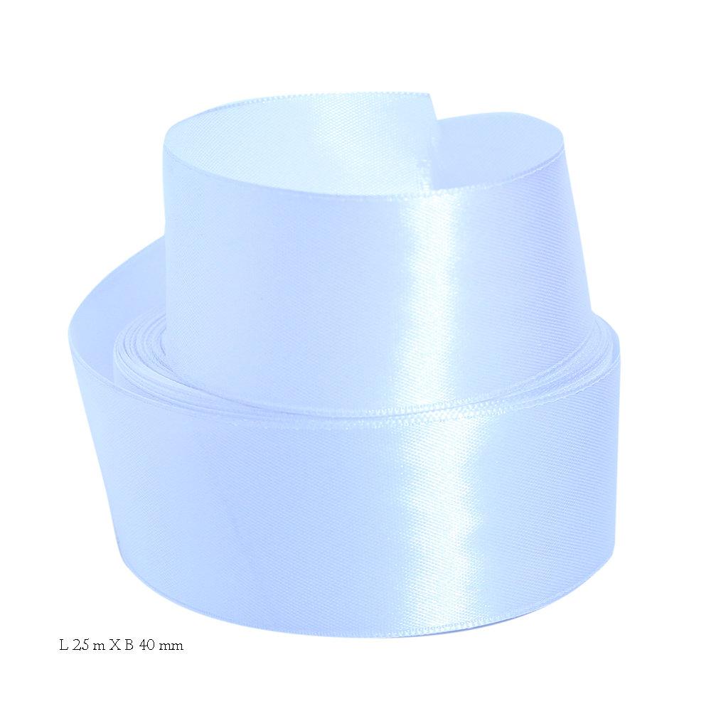 Satijn wit lint 40 mm