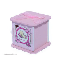 Baby doosje roze  kleine afbeelding