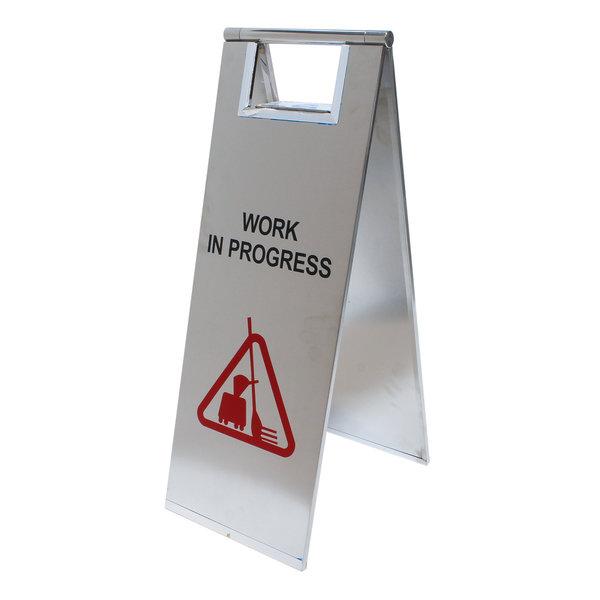 Informatiebordje werkplaats