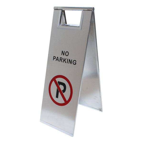Informatiebordje verboden te parkeren