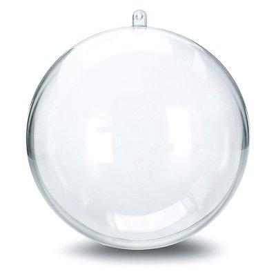 Transparante ballen 8 cm - 10 stuks